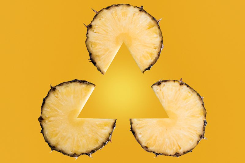 ananas pineapple triangle