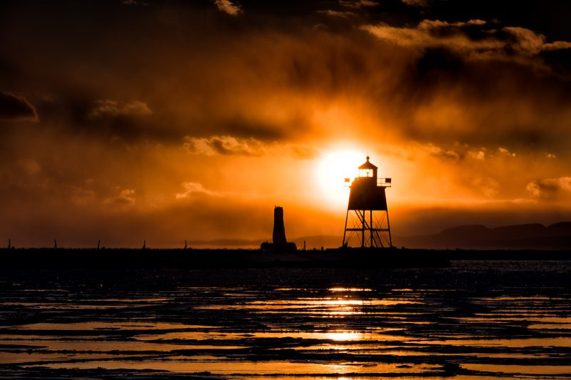 lighthouse in grand marais