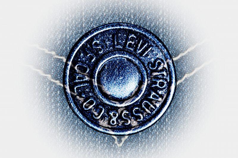levis jeans button