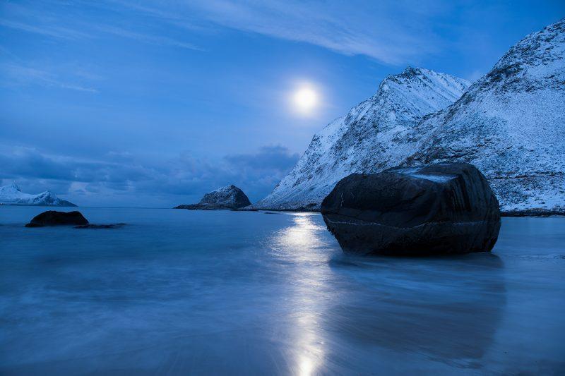 Haukland Beach, Vestvågøy Lofoten Island