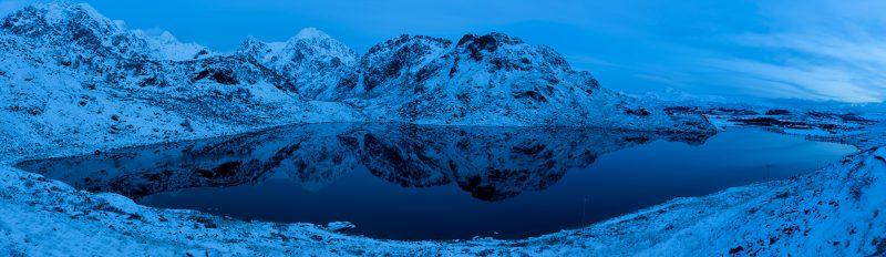 Lake on Vestvågøy Lofoten