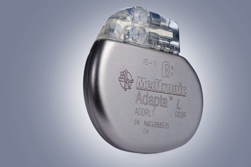 Medtronic pacemaker product shot