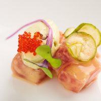 Sashimi - Smoked salmon