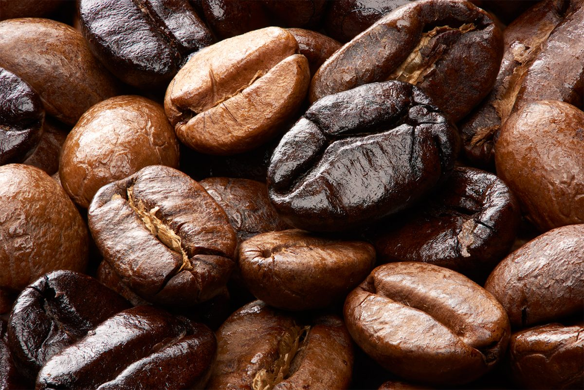 Commercial photographer Daniel Sigg - roasted coffee bean blend