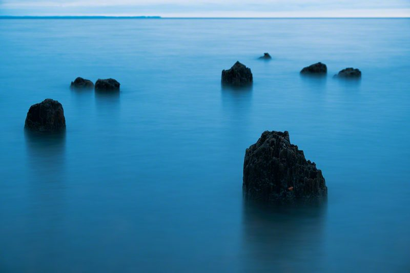 Blue hour on Lake Superior