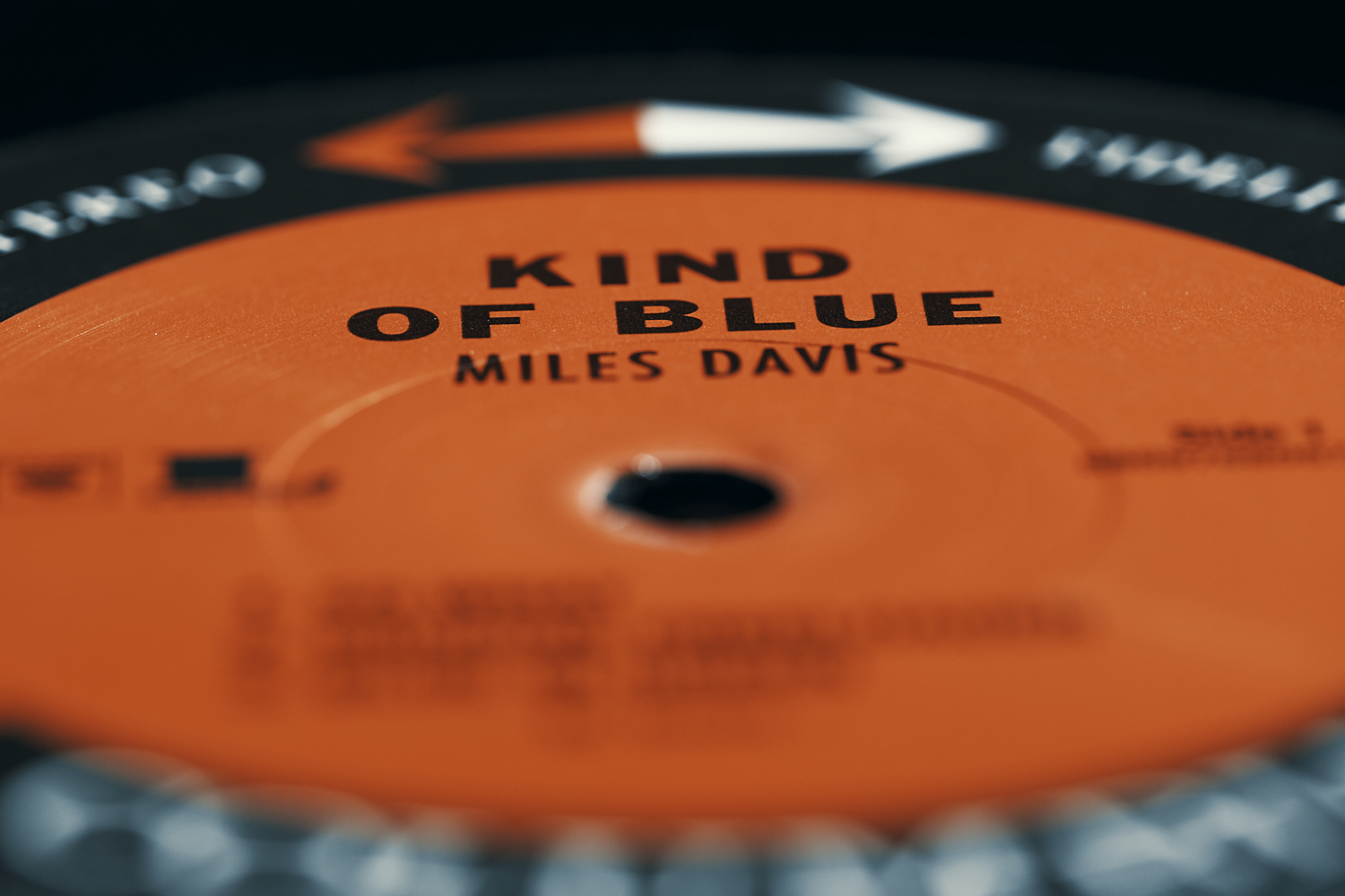 kind of blue Miles Davis record vinyl