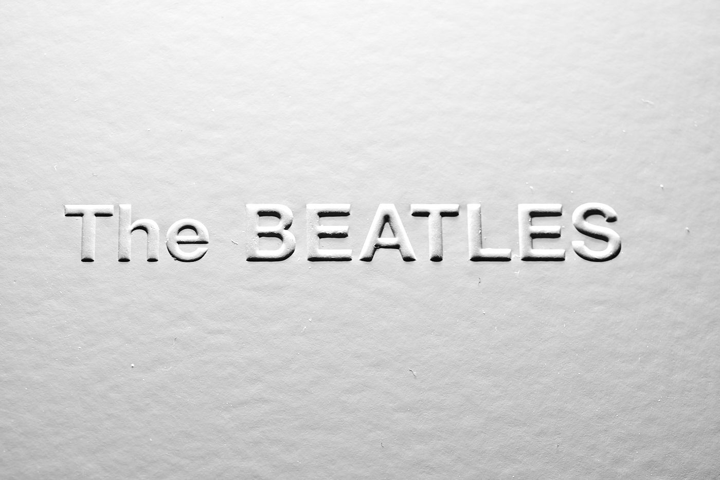 beatles record white album