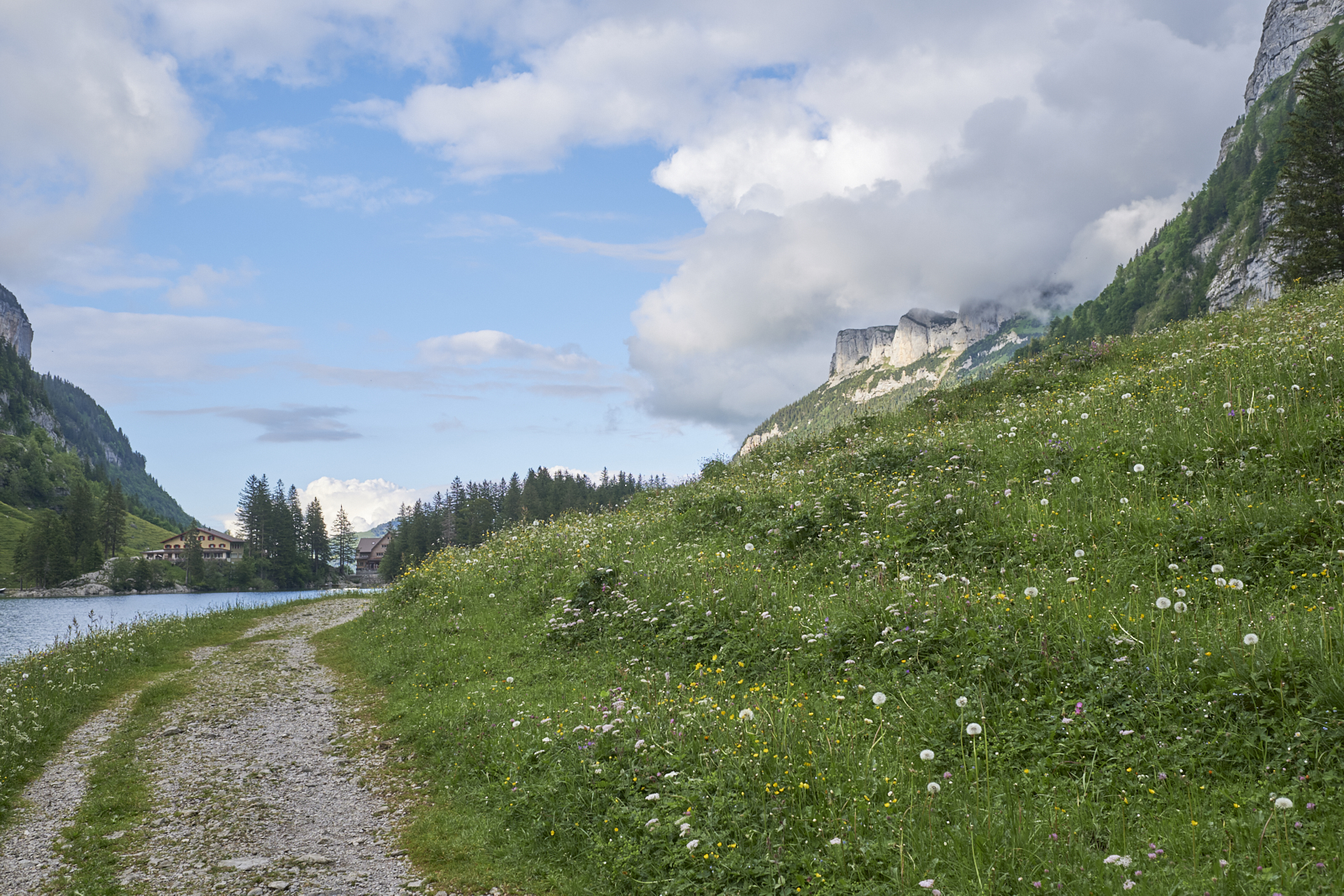Appenzell Seealpsee Switzerland