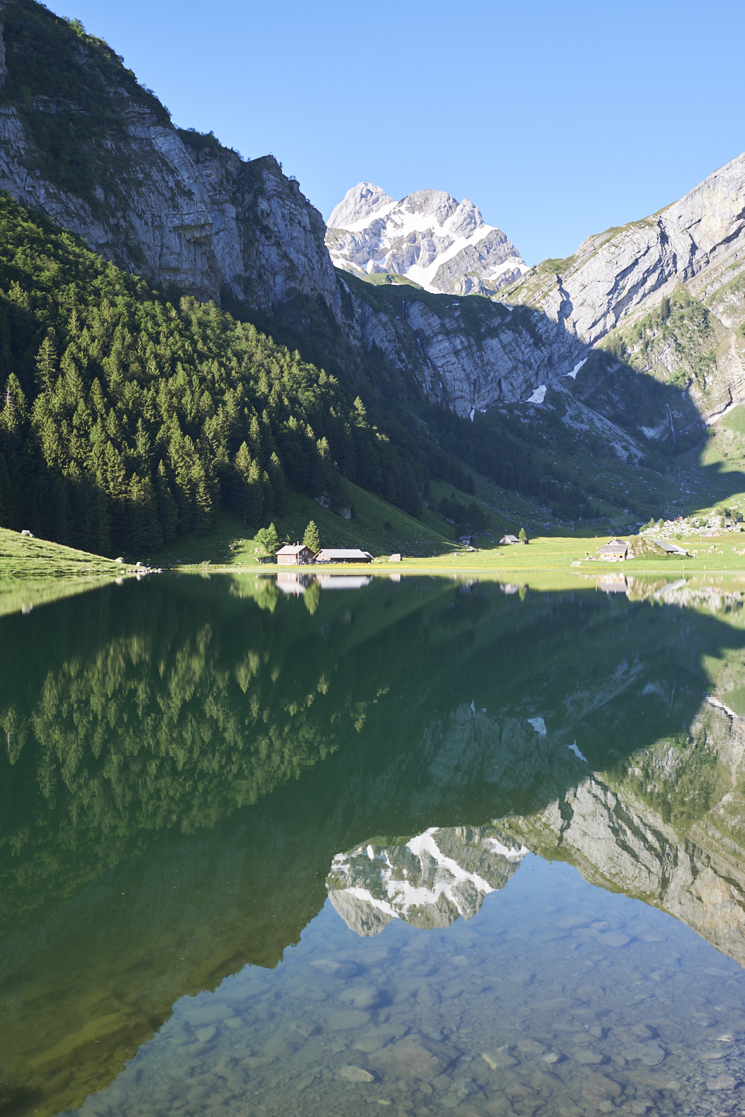 Appenzell Seealpsee reflection