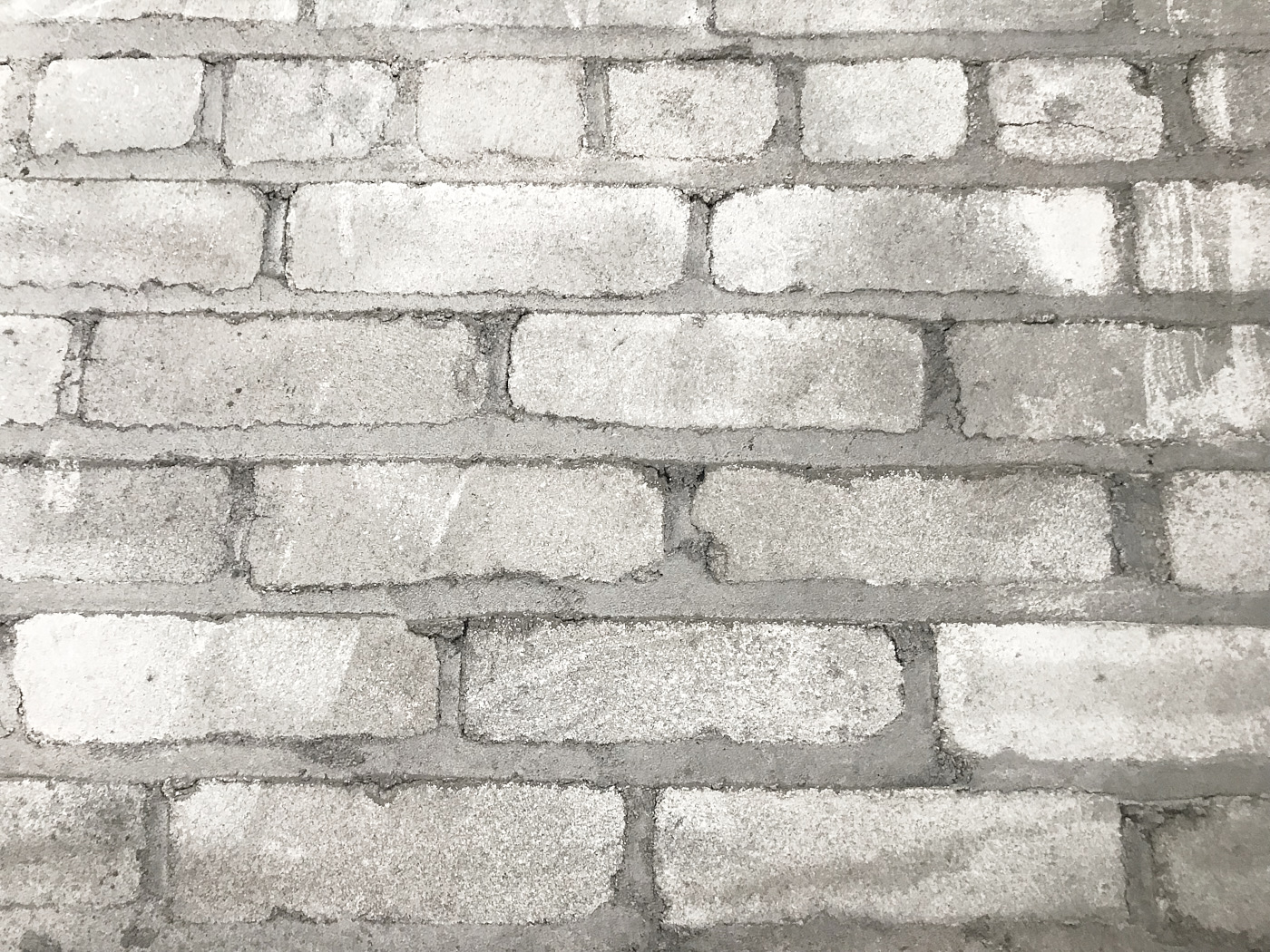 brick wall white grey shades