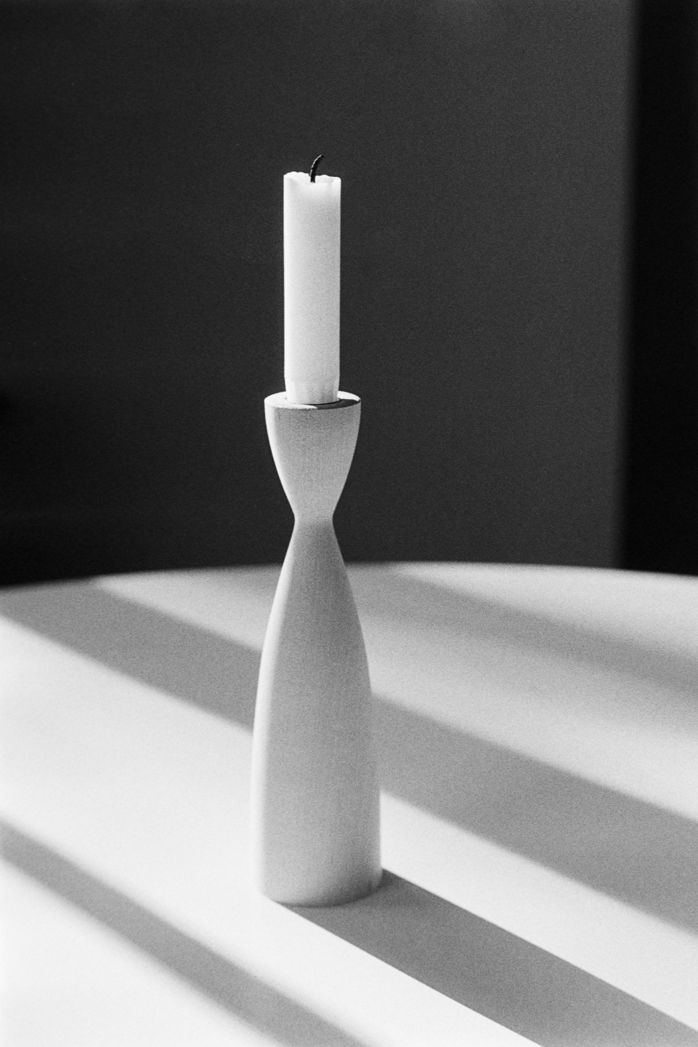 candle still life candle shadow play  Kodak TriX 400 film with 35mm Nikon FE