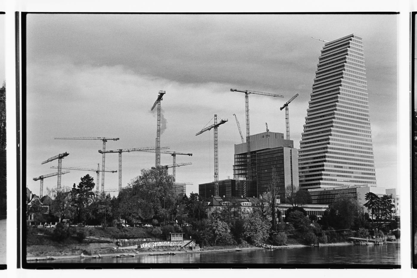 Basel Roche Towers