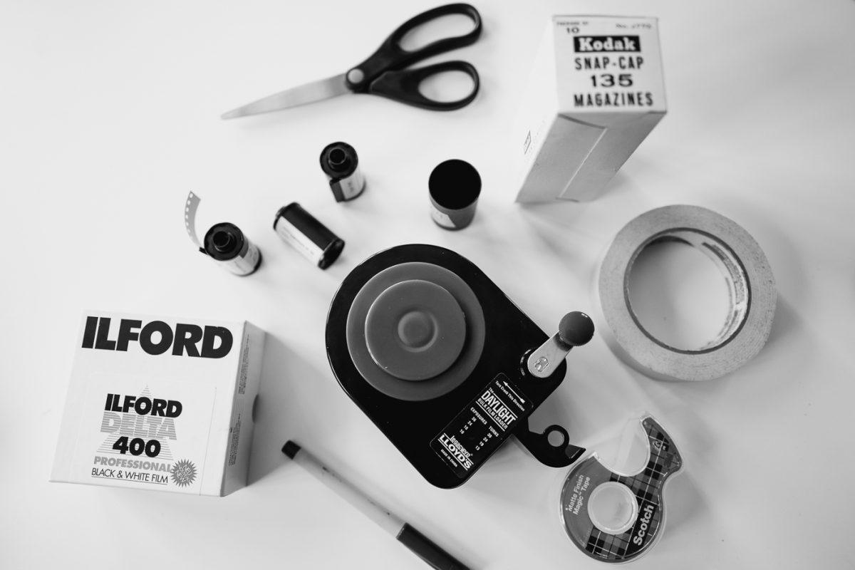 Photographic film - 35 mm movie film
