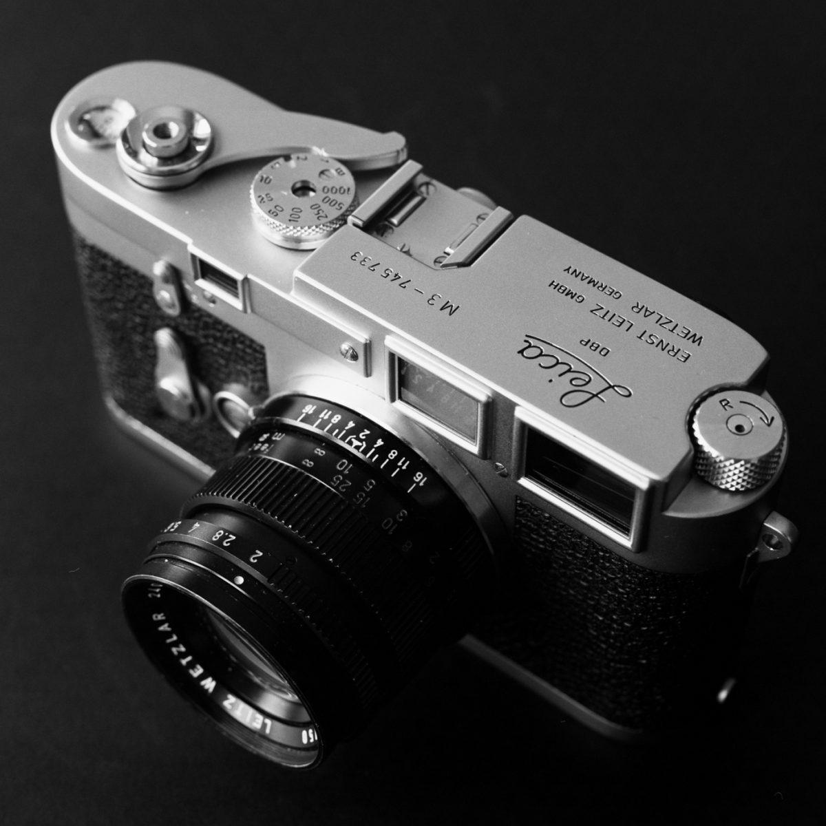 Photographic film - Camera lens