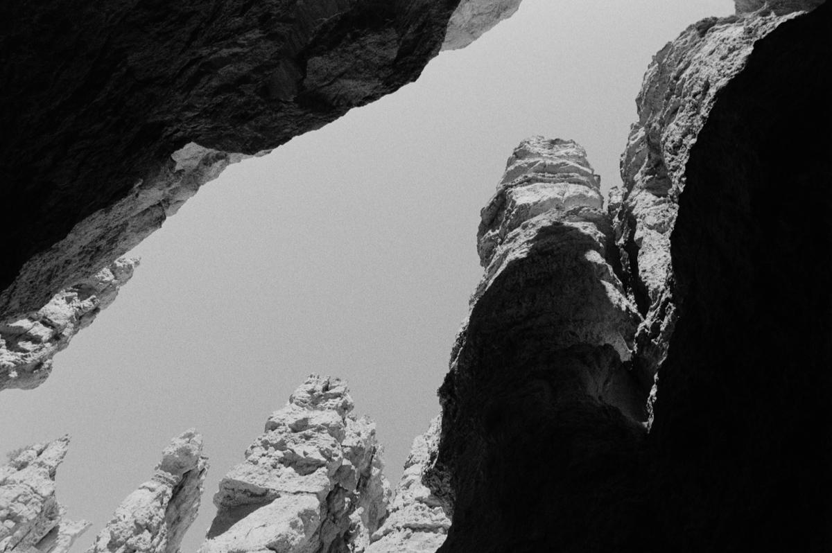 Bryce Canyon Ilford Delta 400 @ 1600 Nikon FE 28mm Ilford DDX