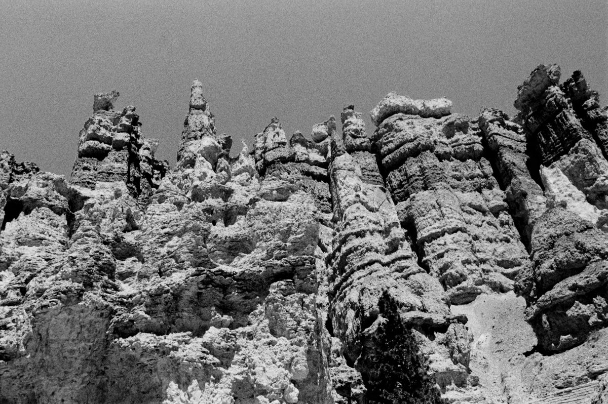 Bryce Canyon Ilford Delta 400 @ 1600 Nikon FE 28mm Ilford DDX