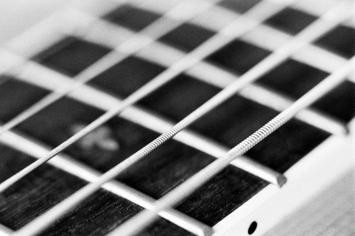 Yamaha Guitar Detail Macro Film