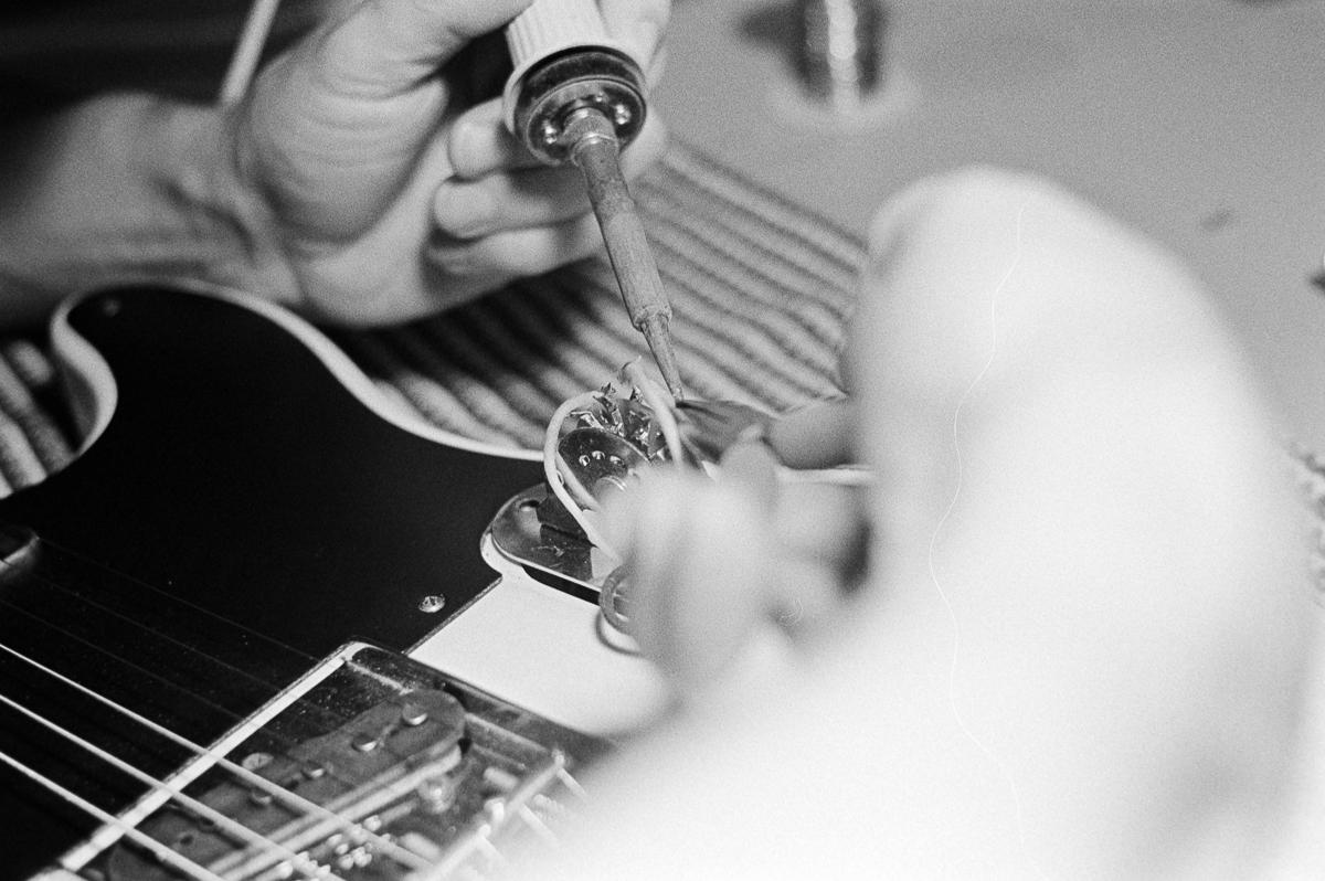 Fender Telecaster Guitar Repair