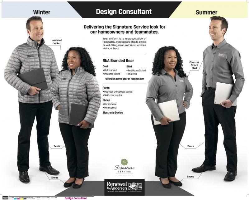 Signature Service Roles 28x22 Design Consultant