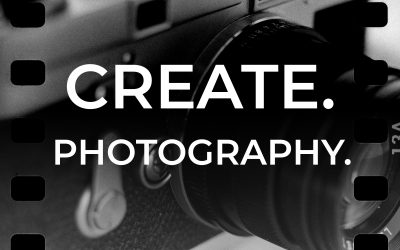Welcome to Episode 001 of the CREATE. PHOTOGRAPHY.  podcast: Introduction and tips to overcome creative block.