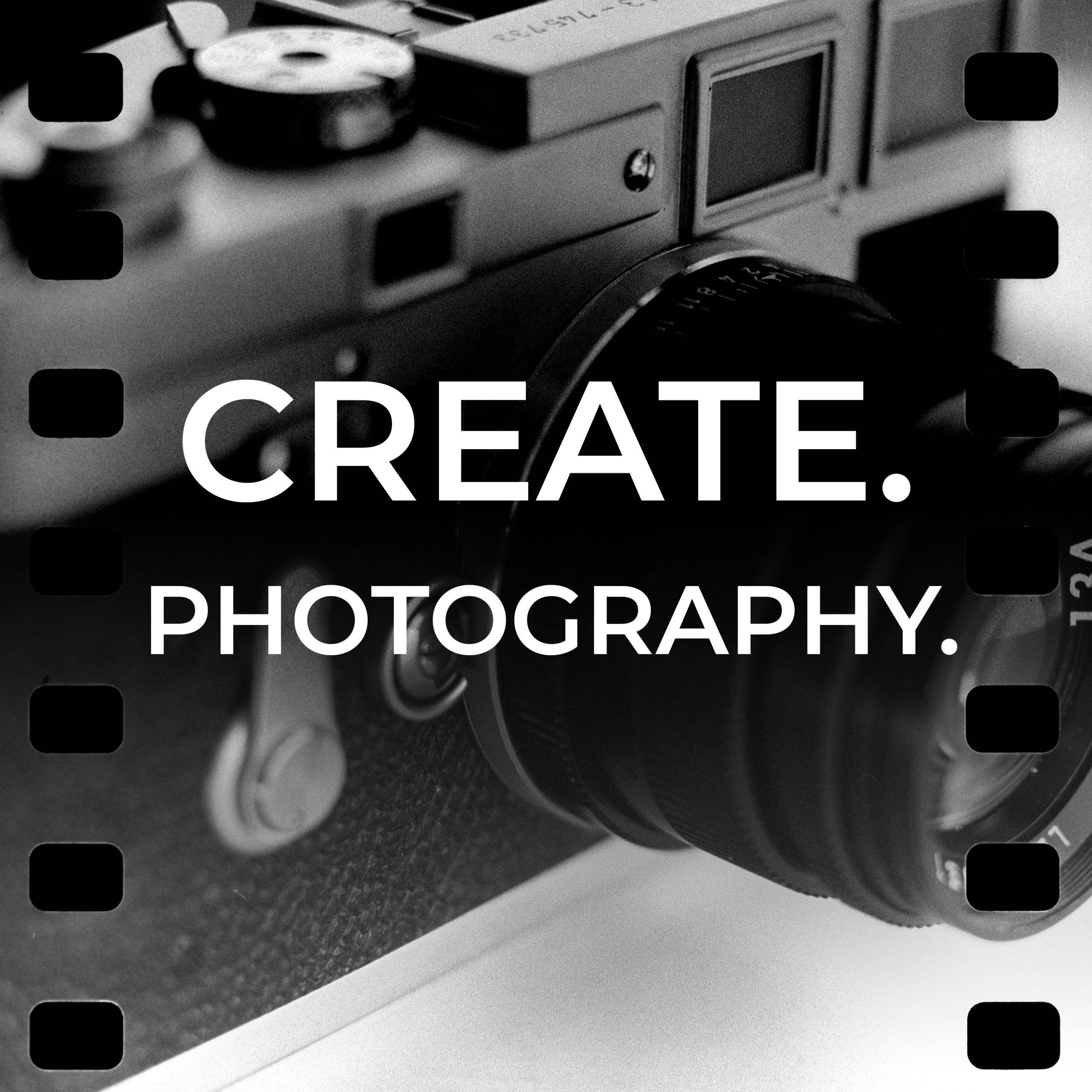 Create. Photography. Podcast by Daniel Sigg - about the creative side of photography and making images (not gear)