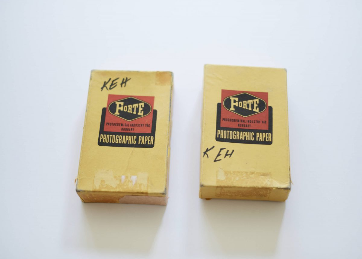 Photography - Photographic film
