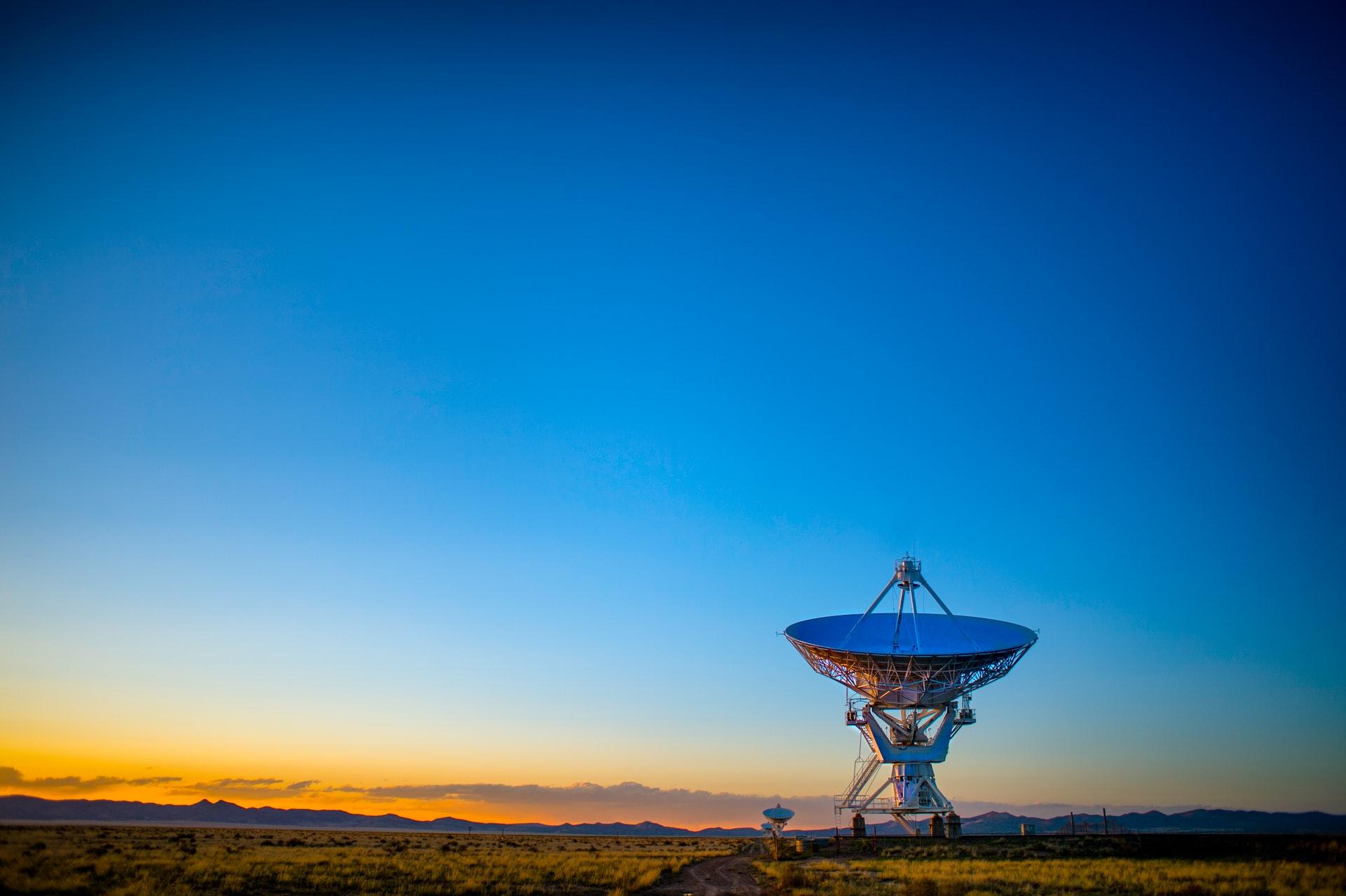 Satellite dish - Artificial satellite