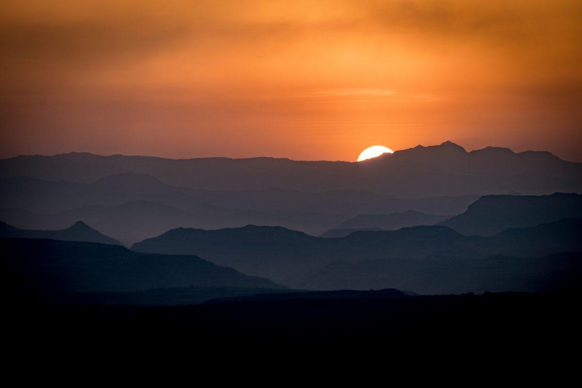 Mount Scenery - Light