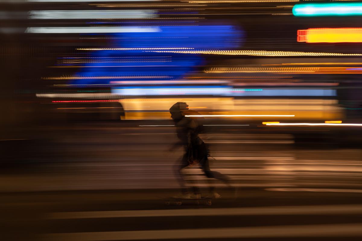 Skateboarder - Street Photography